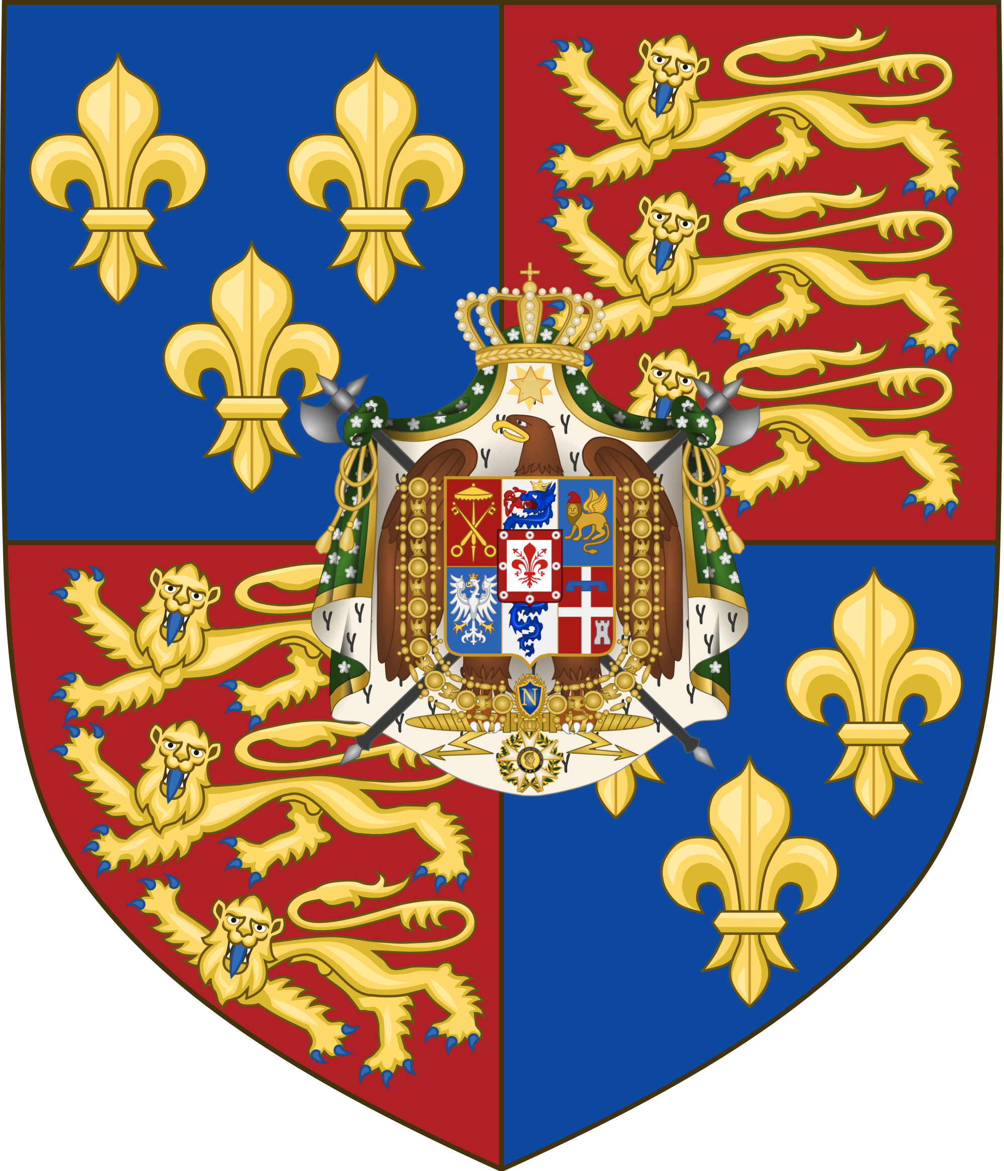 Coat of arms of England: history and description. What does he have in common with the emblem of Great Britain 18