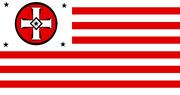 Kuklux Klan Flagge USA