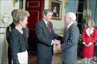 President McCain Reagan 1987