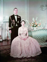 Elizabeth II and Philip