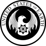 Great Seal of the United States of Earth with words (Celestial Ascendance)