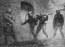 Hauserstürmung Wehrmacht