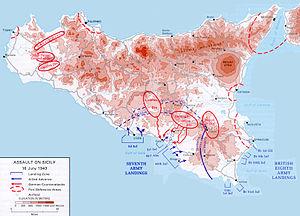 Map operation husky landing