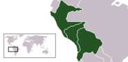 Location ConfederaciónPerú-Boliviana