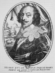 Первый герцог Роган