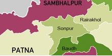 Sonpur mapa