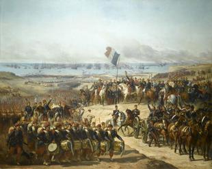 Высадка французов в Египте