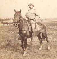 Рузвельт на коне