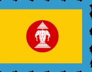 Flag of Dai Viet-Lan Xang (Merveilles du Monde (Map Game))