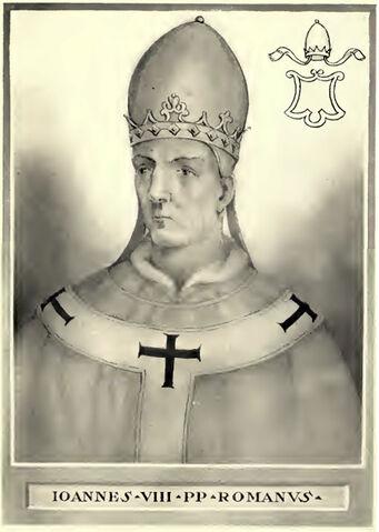 File:Pope John VIII Illustration.jpg