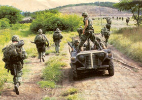 SRA Soldiers Patroling in the Weston Territory
