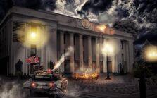 Танки Новороссии обстреливают Верховную Раду Украины
