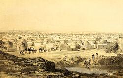 Barth 1857 Kano from Mount Dala