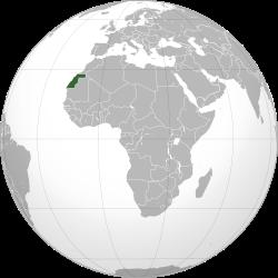 Resultado de imagen para Sahara Occidental map png