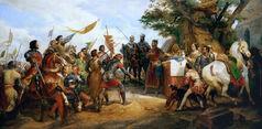 Bataille de Bouvines gagnee par Philippe Auguste
