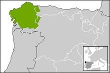 Localización de GaliciaATL