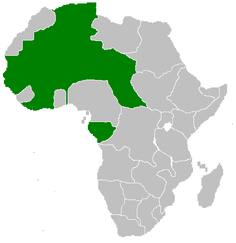 africa map of the united states