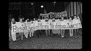 Demonstration in Rostock