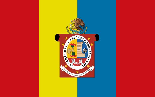 File:Flag of Oaxaca.png
