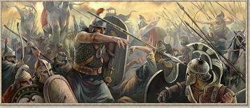Greek elephant battle