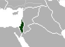 Location of Palestine (Satomi Maiden ~ Third Power)
