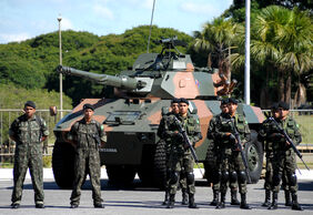 Comemoração do Dia do Exército Brasileiro (13855146674)