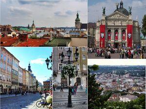 Lviv-collage