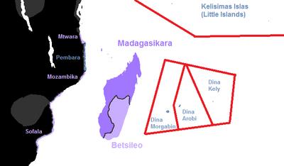 Madagasikara Administrative Divisions
