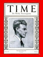 Time Magazine Charles Lindbergh