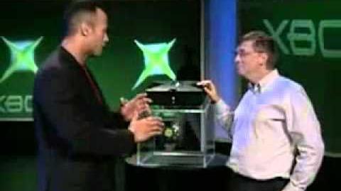 XBOX Unveiling 2001