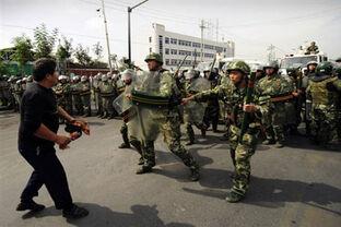 НОАК в Уйгурии