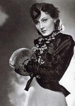 1937 Lida Baarova im Film Patrioten gemeinfrei opt