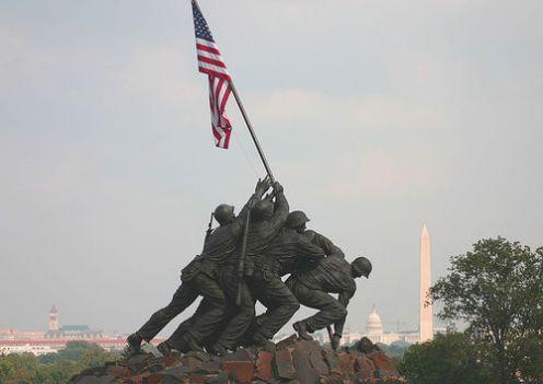 File:Flag over Iwo Jima.jpg