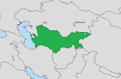 Locación Turkmenistán