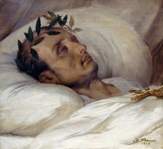 File:Napoleon sur son lit de mort Horace Vernet 1826.jpg