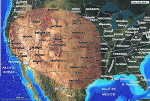 Yellowstone Eruption Ash Deposit