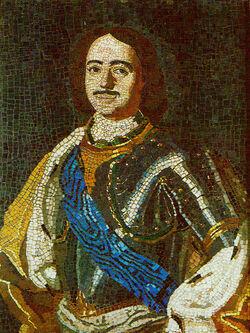 800px-Lomonosov PeterI mosaic 1754