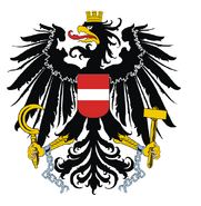 Bundeswappen black gross