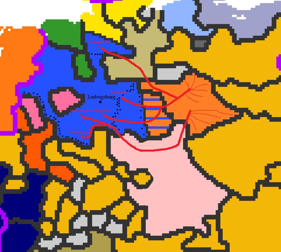 Hamburg-Hesse-Bavaria vs Saxony War