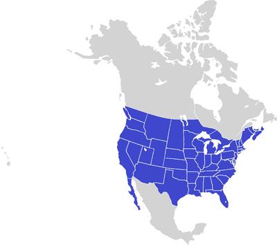 Napoleons world United States Map