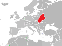 Mapa reino de belarus