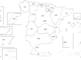 List of States and Territories of Spain (1898: Spanish Republic)