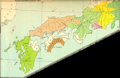Карта Японии-0