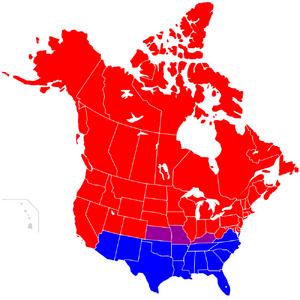 Штаты Америки Середина 2ГВ