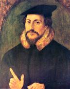 800px-John Calvin by Holbein
