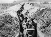 British troops in trenches