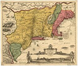 Nueva Holanda 1685