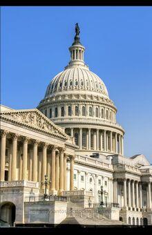 "The Columbian ""Supreme Legislatorial Statehouse"" in the Capital City of Lexington DA"