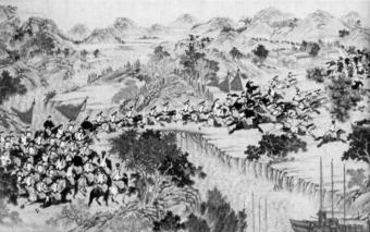 Битва с дунганами