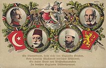 260px-Central Powers monarchs postcard